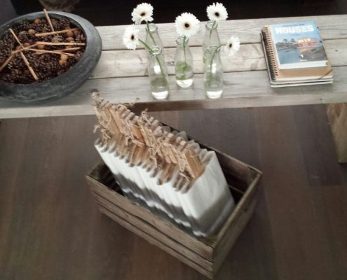 Kaasplanken in kist